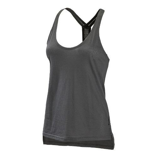 Womens New Balance Inspire Layering Tanks Technical Tops - Magnet L