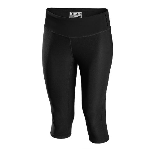 Womens New Balance Ultimate Knee Capri Tights - Black XS