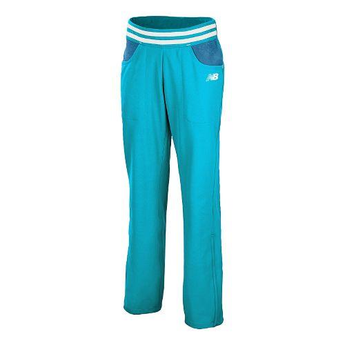 Womens New Balance Westside Full Length Pants - Blue Infinity L