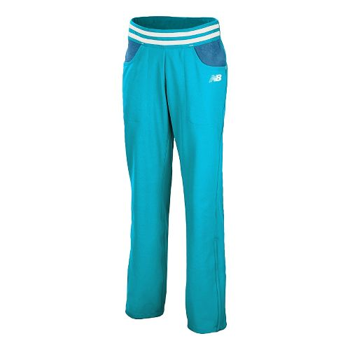 Womens New Balance Westside Full Length Pants - Blue Infinity M