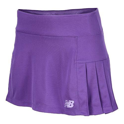 Womens New Balance Montauk Skort Fitness Skirts - Amethyst XS