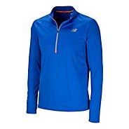 Mens New Balance Impact Long Sleeve 1/2 Zip Technical Tops