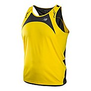 Mens New Balance Impact Singlets Technical Tops