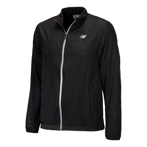 Mens New Balance Sequence Running Jackets - Black S
