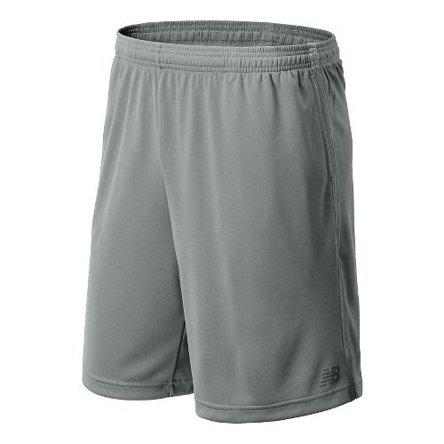 Mens New Balance Cross Run Core Shorts - Steel M