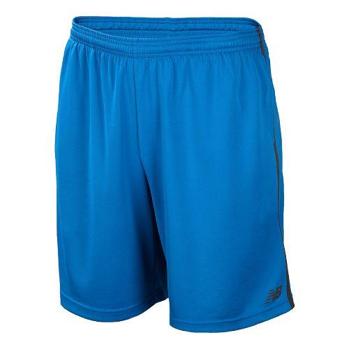 Mens New Balance Cross Run Core Shorts - Laser Blue XS