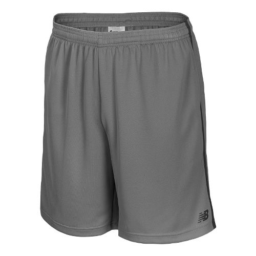 Mens New Balance Cross Run Core Shorts - Silver Filigree M