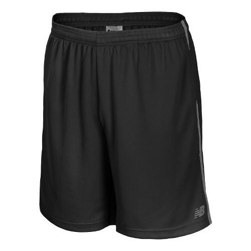 Mens New Balance Cross Run Core Shorts - Lead L