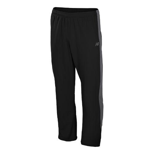 Mens New Balance Cross Run Track Full Length Pants - Black M