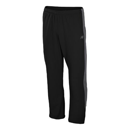 Mens New Balance Cross Run Track Full Length Pants - Black S