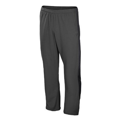 Mens New Balance Cross Run Track Full Length Pants - Magnet L