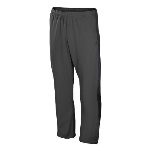 Mens New Balance Cross Run Track Full Length Pants - Magnet XS