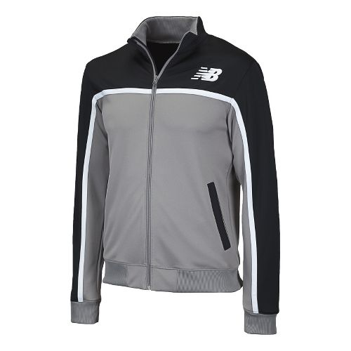 Mens New Balance NB Classic Running Jackets - Black S