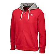 Mens New Balance Essentials Full Zip Hoodie Running Jackets
