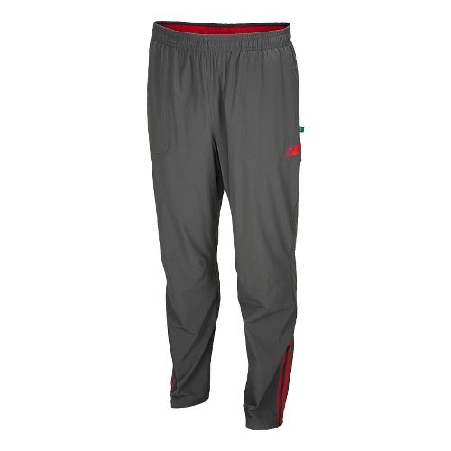 Mens New Balance Geospeed Full Length Pants - Magnet/Astroturf S