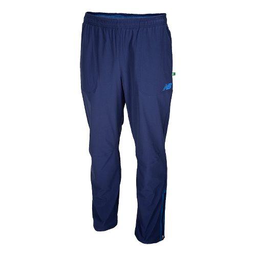 Mens New Balance Geospeed Full Length Pants - Techtonic Blue XL