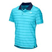 Mens New Balance Casino 2 Polo Short Sleeve Technical Tops