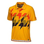 Mens New Balance Geospeed Polo Short Sleeve Technical Tops
