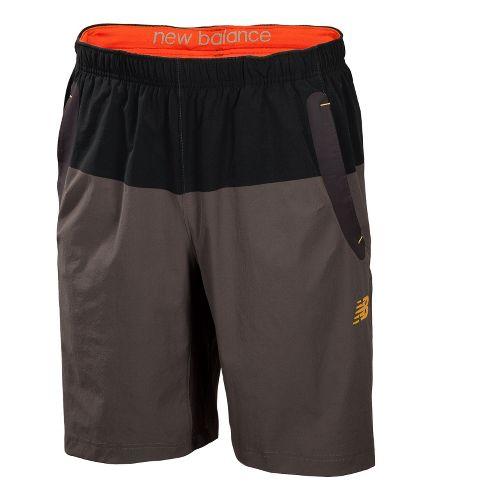Mens New Balance Approach Lined Shorts - Golden Blaze S