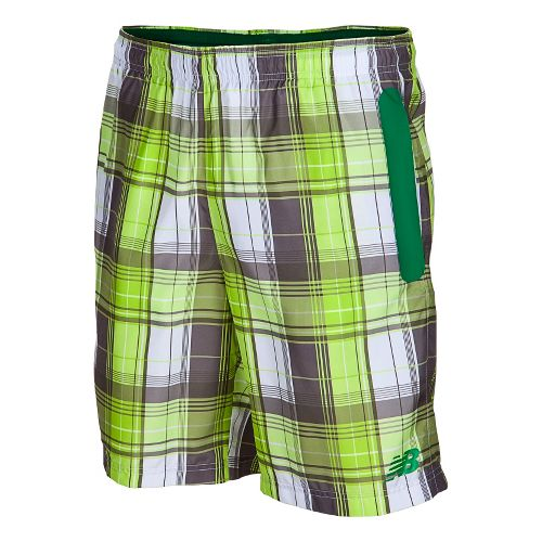Mens New Balance Court Unlined Shorts - Astroturf M