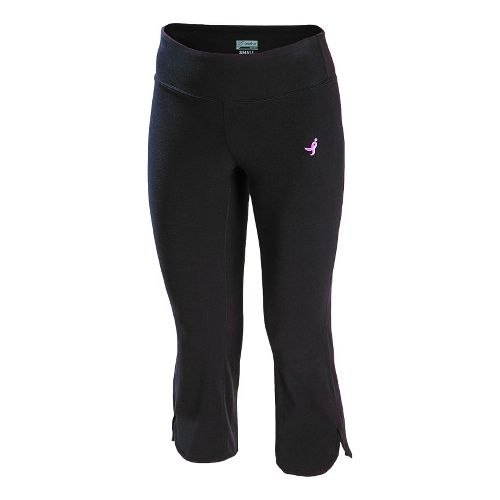 Womens New Balance Komen Petal Capri Tights - Black XXL