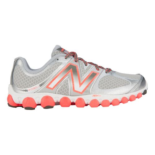 Womens New Balance 4090v1 Running Shoe - Silver/Pink 10.5