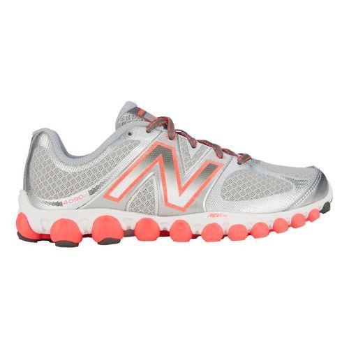 Womens New Balance 4090v1 Running Shoe - Silver/Pink 6.5