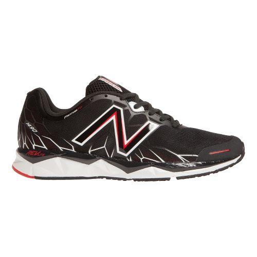 Mens New Balance 1490v1 Running Shoe - Black/Red 11.5