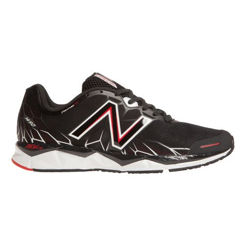 Mens New Balance 1490v1 Running Shoe - Black/Red 14