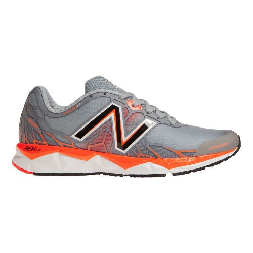 Mens New Balance 1490v1 Running Shoe - Silver/Orange 7.5