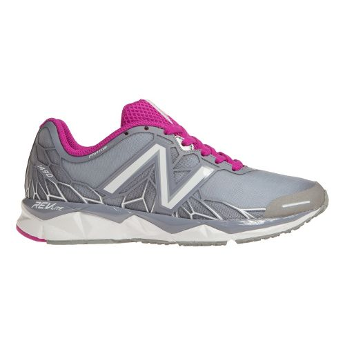 Womens New Balance 1490v1 Running Shoe - Silver/Pink 7.5