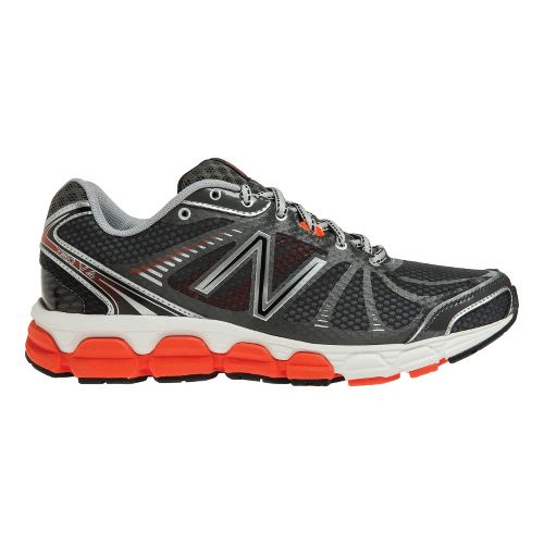 Mens New Balance 780v4 Running Shoe - Grey/Orange 7
