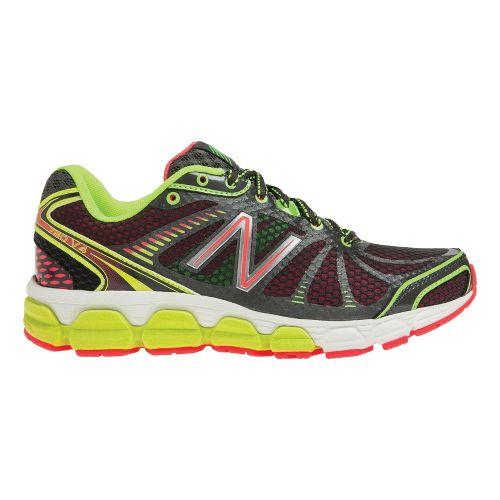 Womens New Balance 780v4 Running Shoe - Dark Grey/Pink 7.5