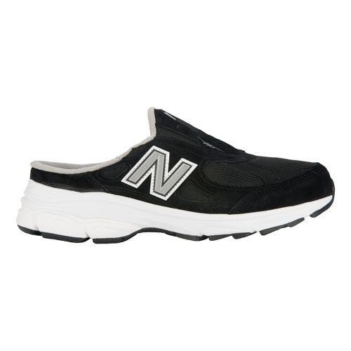 Womens New Balance 990v3 Slip-On Casual Shoe - Black 10.5