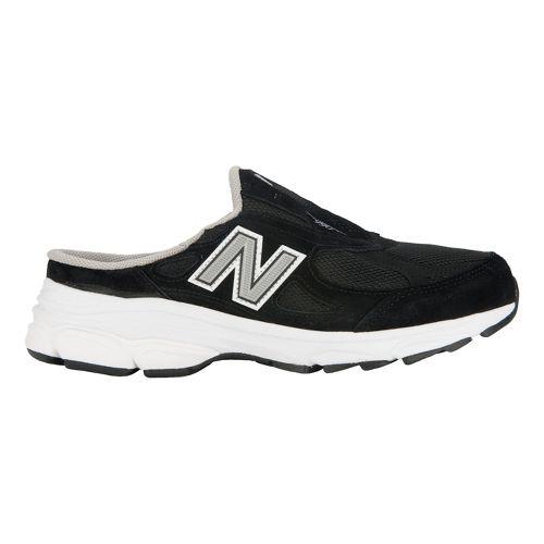 Womens New Balance 990v3 Slip-On Casual Shoe - Black 8