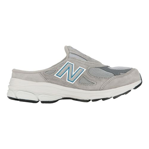 Womens New Balance 990v3 Slip-On Casual Shoe - Grey 10