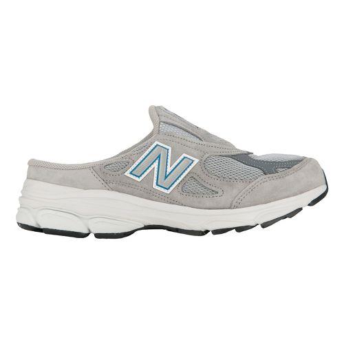 Womens New Balance 990v3 Slip-On Casual Shoe - Grey 7.5