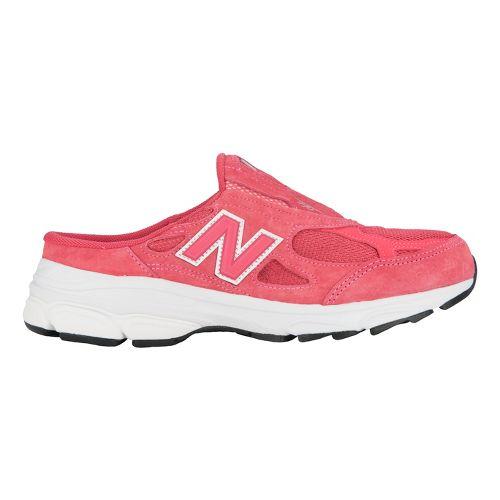 Womens New Balance 990v3 Slip-On Casual Shoe - Beige/White 10.5