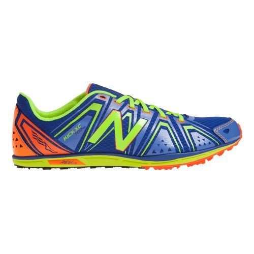 Mens New Balance XC700v3 Cross Country/Spike Cross Country Shoe - Blue/Yellow 7.5