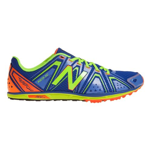 Mens New Balance XC700v3 Spikeless Cross Country Shoe - Blue/Yellow 12.5