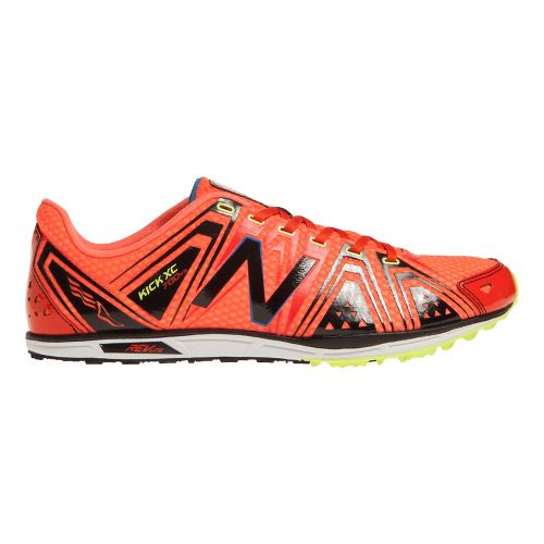 Mens New Balance XC700v3 Spikeless Cross Country Shoe - Red/Black 7.5