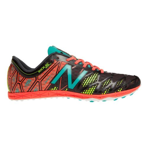 Mens New Balance XC900v2 Spike Cross Country Shoe - Black/Coral 12.5