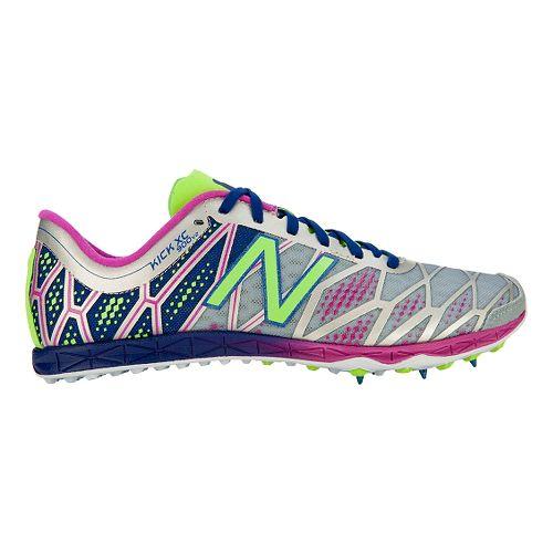 Womens New Balance XC900v2 Cross Country/Spike Cross Country Shoe - Grey/Purple 7.5