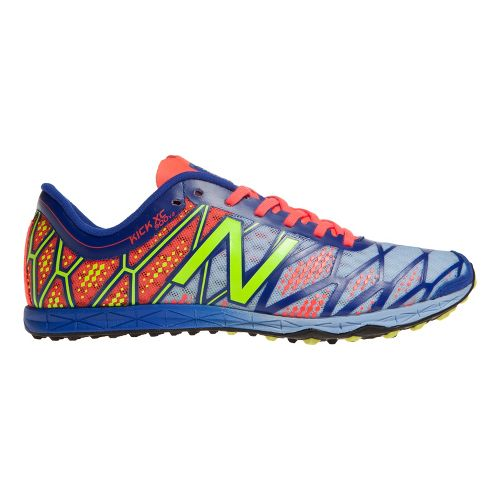 Womens New Balance XC900v2 Cross Country/Spike Cross Country Shoe - Silver/Blue 6.5