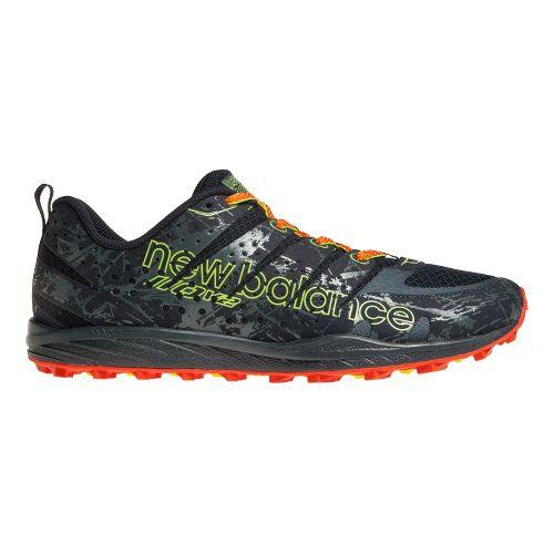 Mens New Balance T110v2 Trail Running Shoe - Grey/Orange 9.5