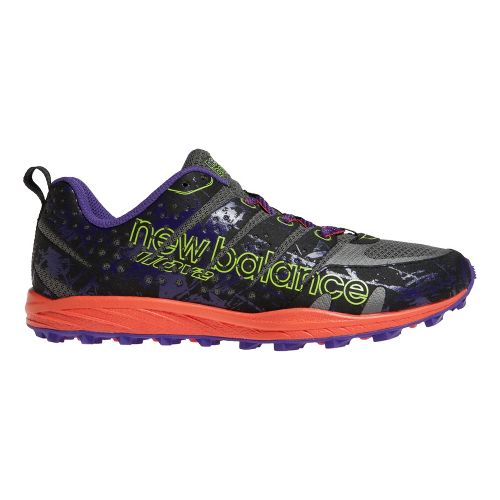 Womens New Balance T110v2 Trail Running Shoe - Grey/Purple 6.5
