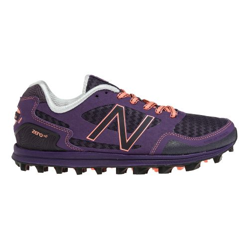 Womens New Balance Trail Zero v2 Trail Running Shoe - Purple/Pink 7.5