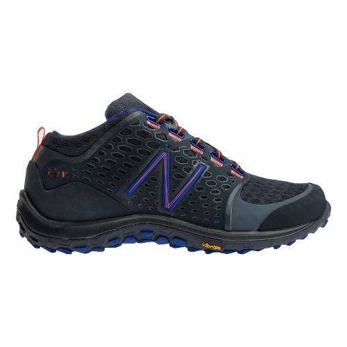 Womens New Balance 89v1 Hiking Shoe - Grey/Blue 8.5