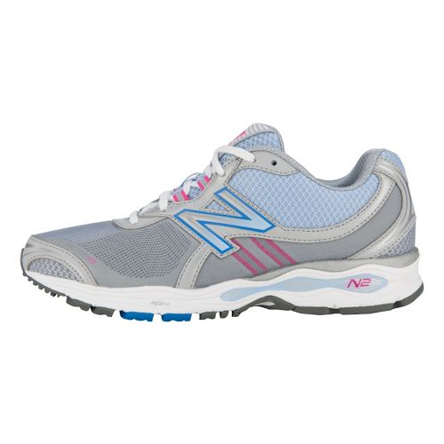Womens New Balance 1765 Walking Shoe - Grey/Pink 7.5