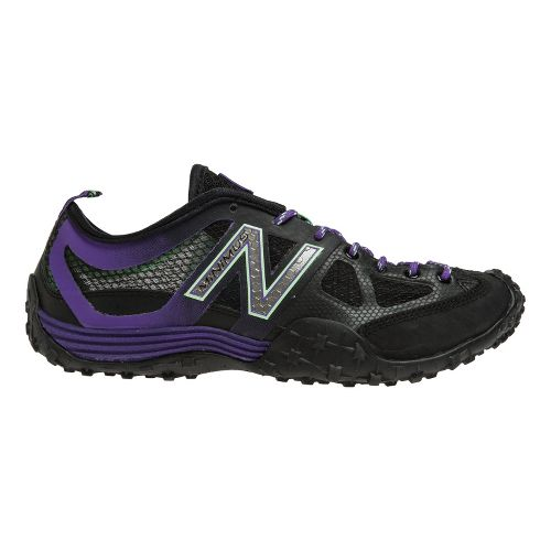 Womens New Balance WX007 Cross Training Shoe - Black/Purple 7.5
